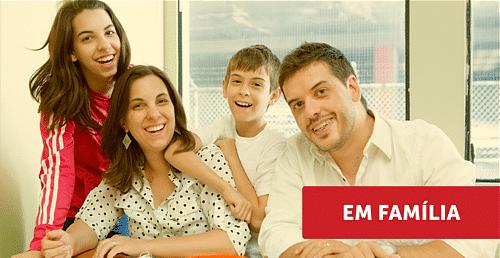 intercambio em familia, familia no canada