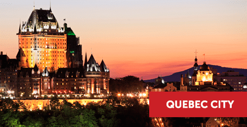 Cursos de frances no canada, quebec city