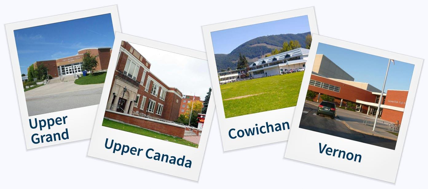 Mini High School no Canada; High School no Canada~High School; Estude no Canada