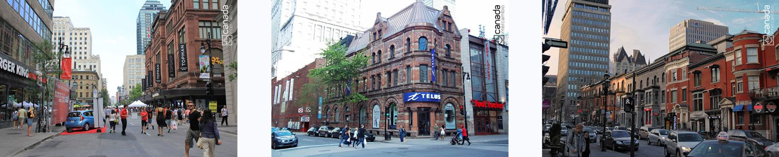 Rue Saint Catherine, Montreal
