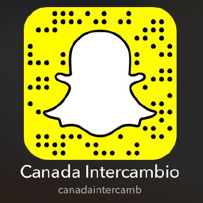Snapchat Canada Intercambio; Estude no Canada; Intercambio no Canada
